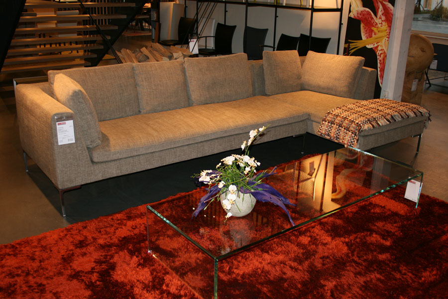 sofa charles von b b italia m bel ernst wohnkonzept. Black Bedroom Furniture Sets. Home Design Ideas